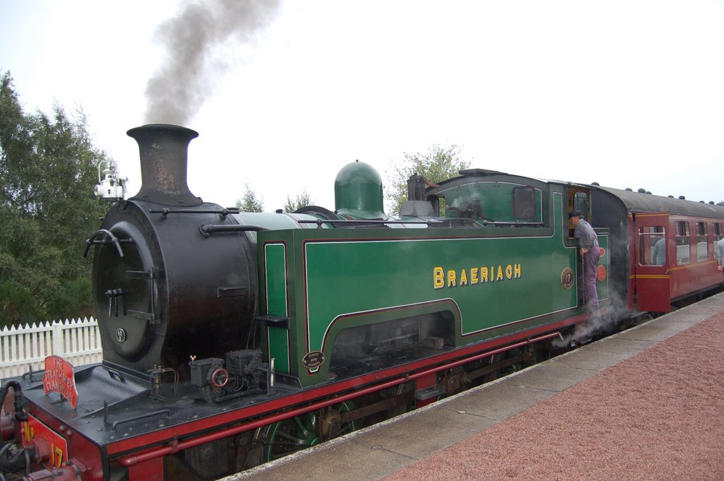 Braeriach Steam Train