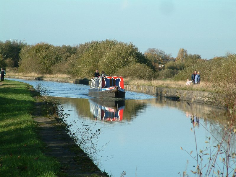 Canal at Abram.