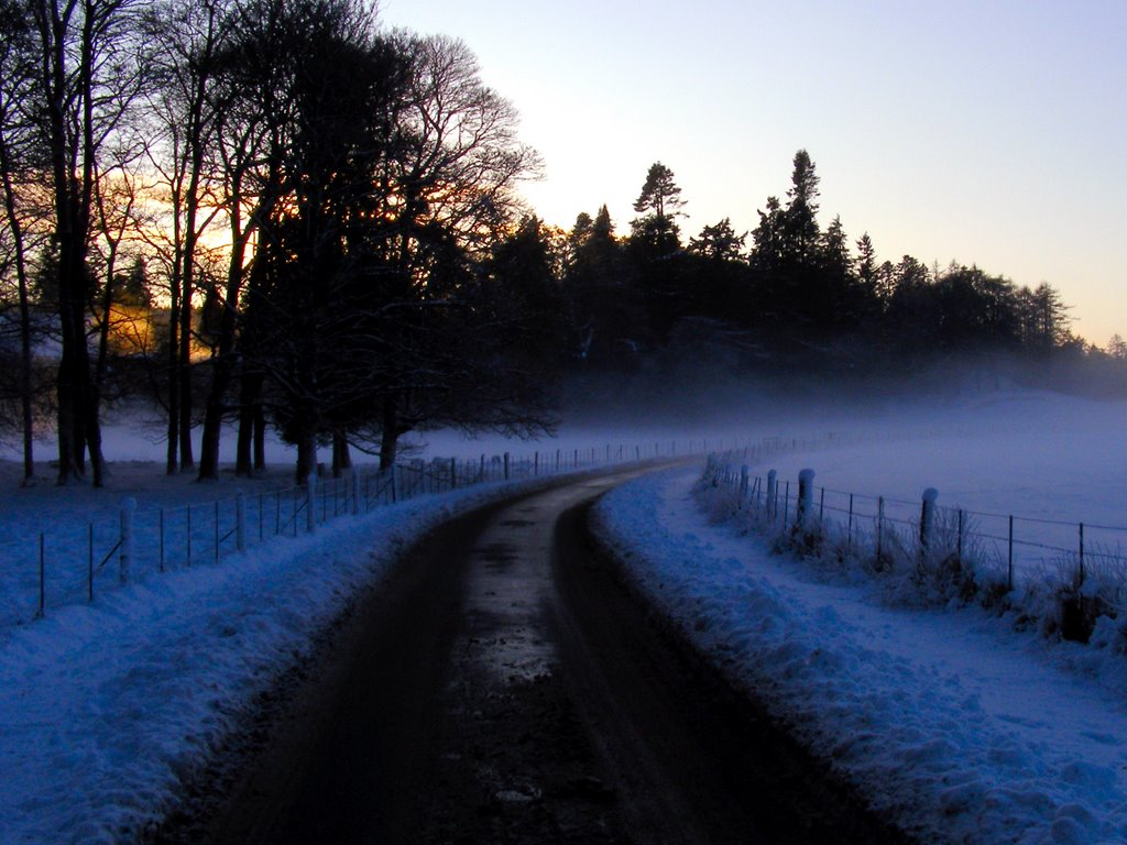 Christmas day 2009, Dunkeld