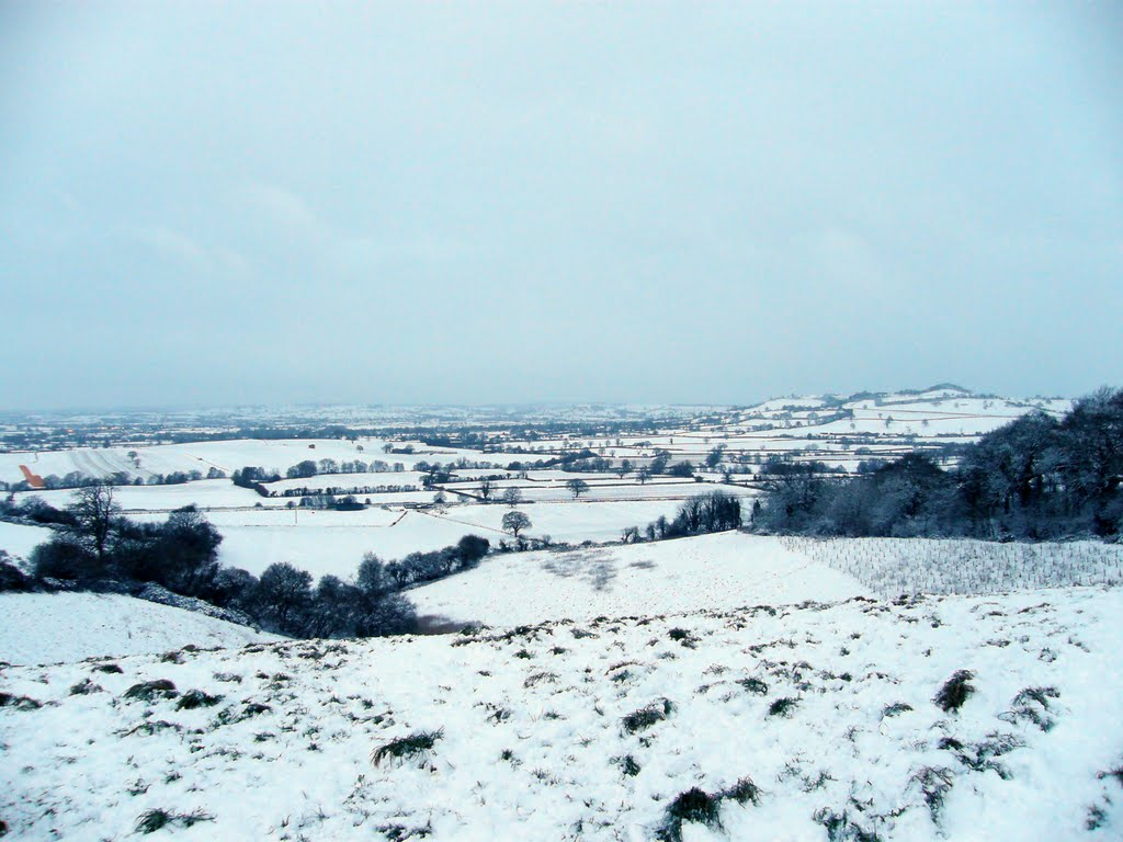 View Across to Creech Hill