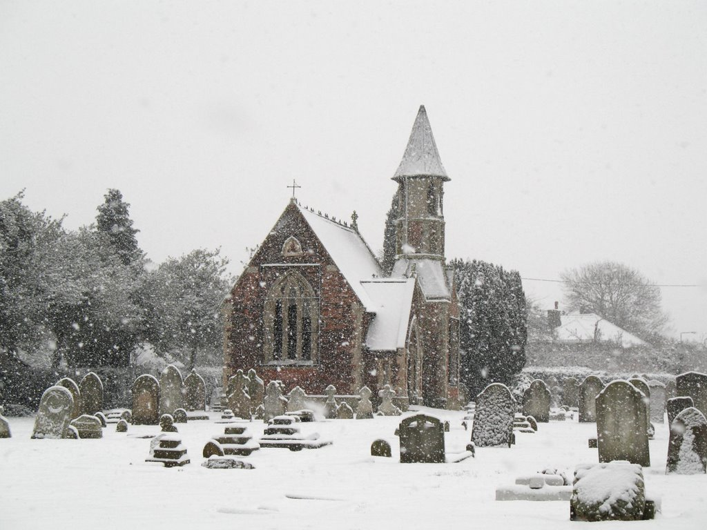 Fenny Chapel in heavy snow
