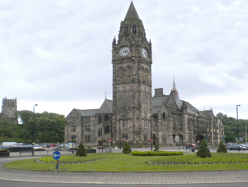 Rochdale Town Hall Built in 1871