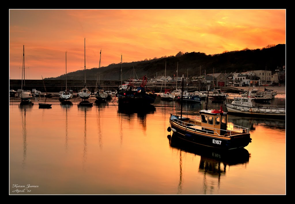 #6  ~  Lyme Regis Sunset  ~ (UK)  2010 July NPC