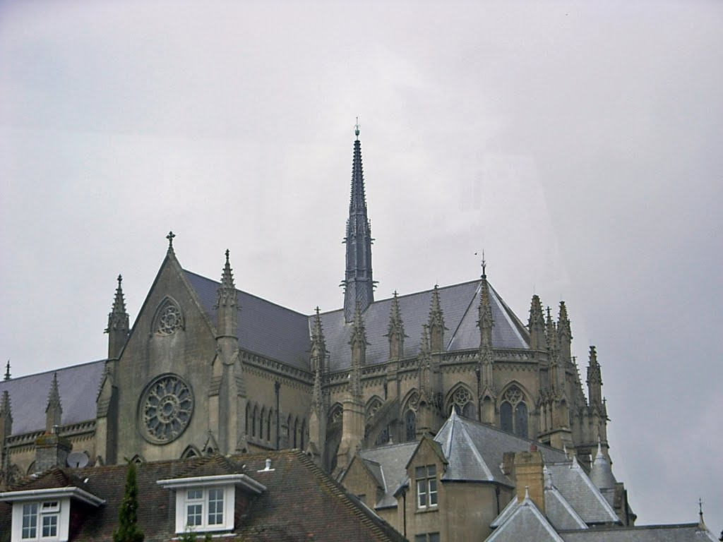Arundel Cathedral & Fleche Tower.