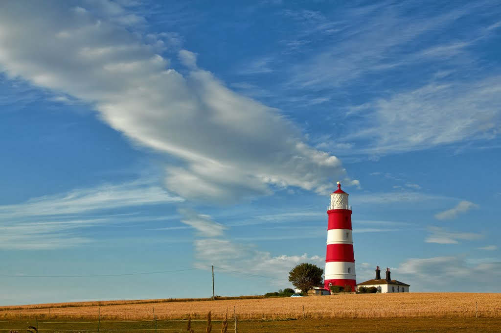 Happisburgh  ( Haysbro ) lighthouse