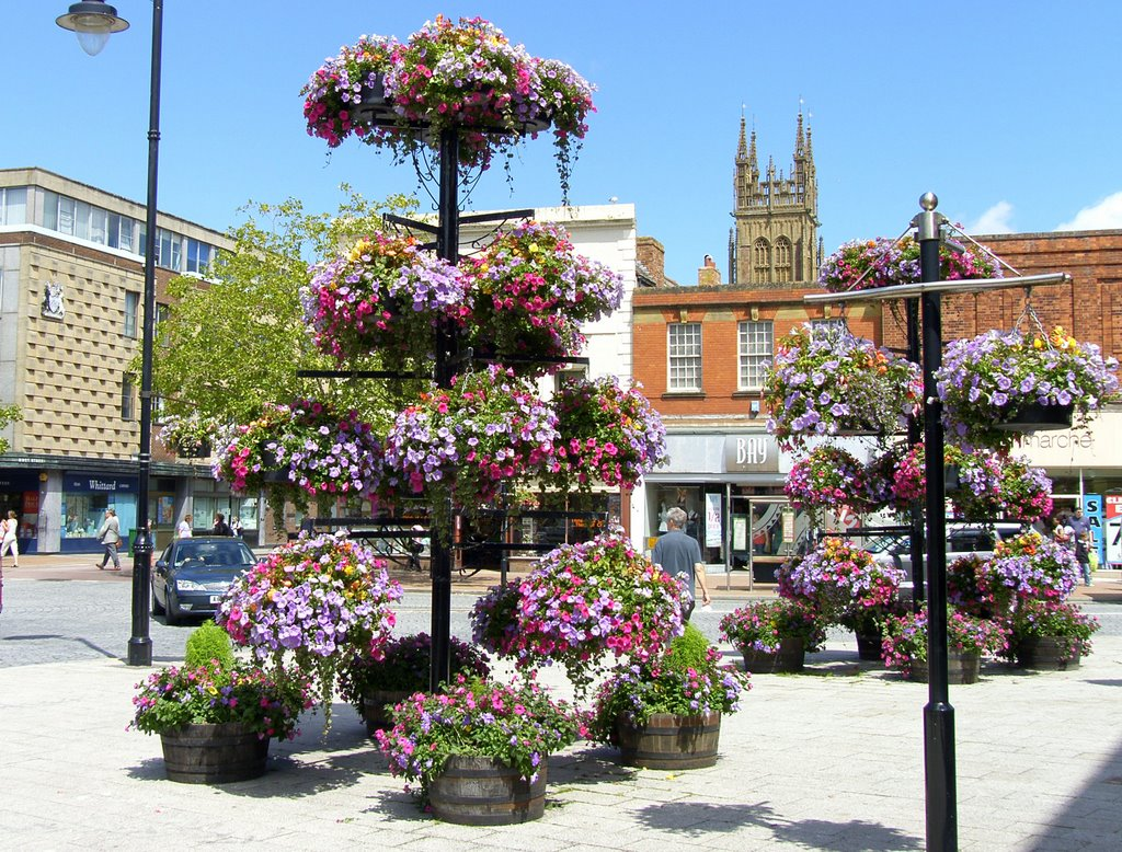 Flowers in Fore Street, Taunton