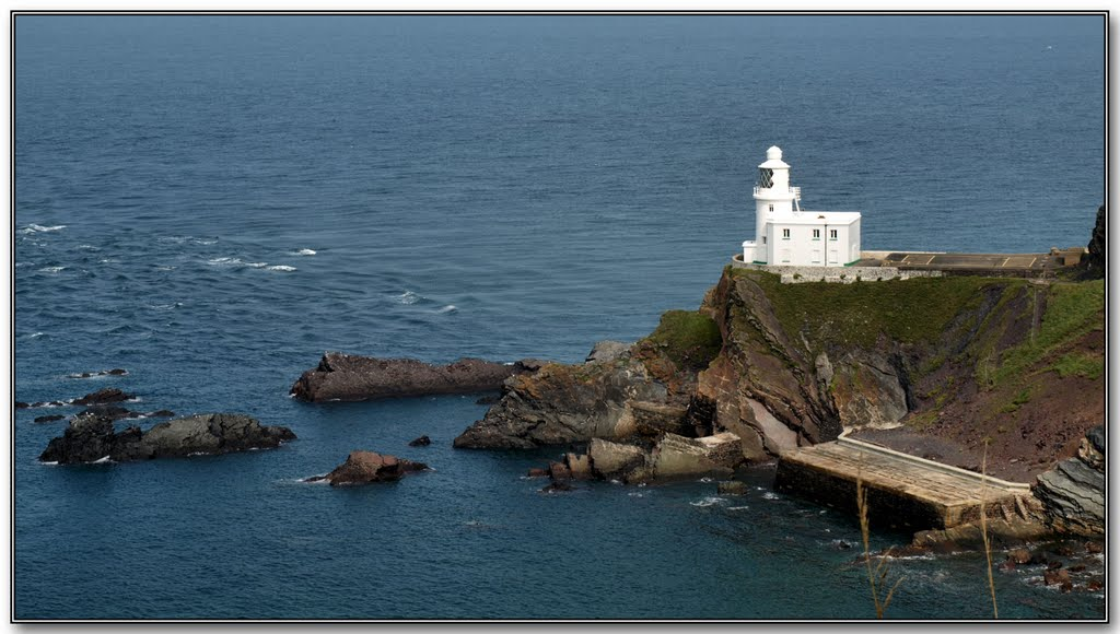 Hartland Point Lighthouse.