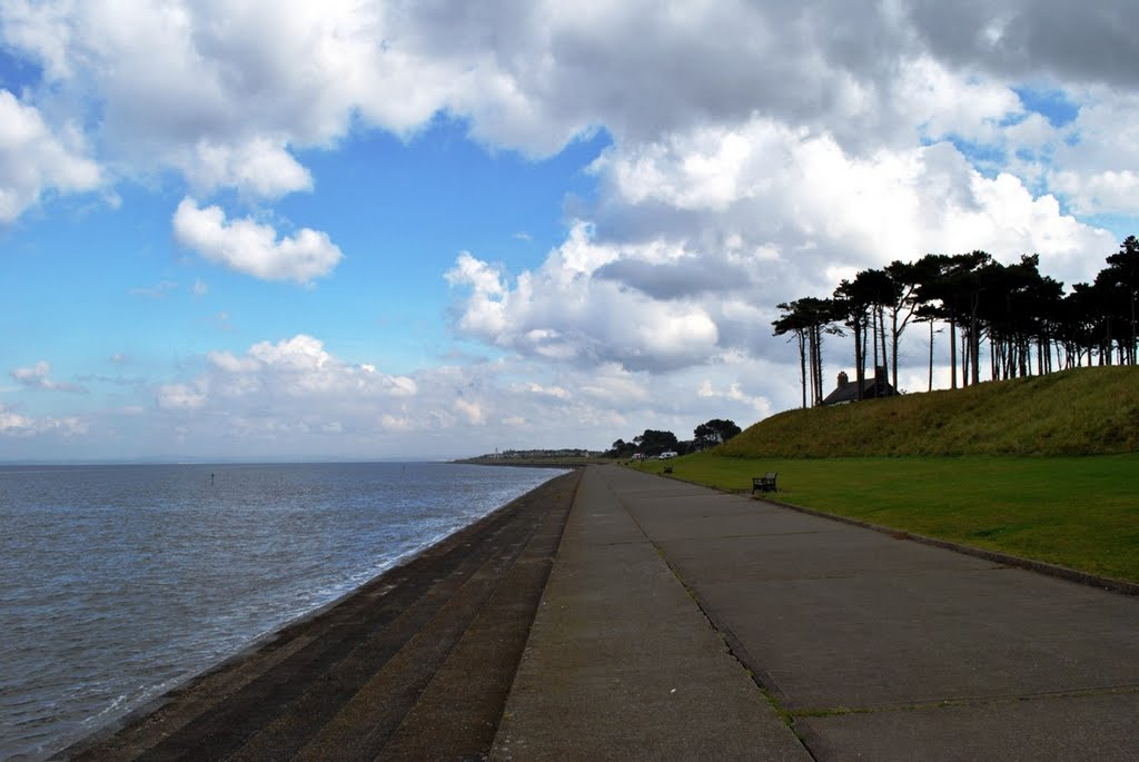 Solway Firth front at Silloth