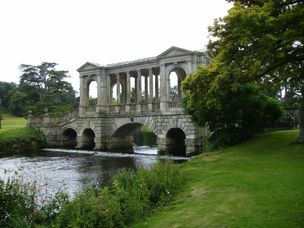 Palladian Bridge, Wilton House, Wiltshire.