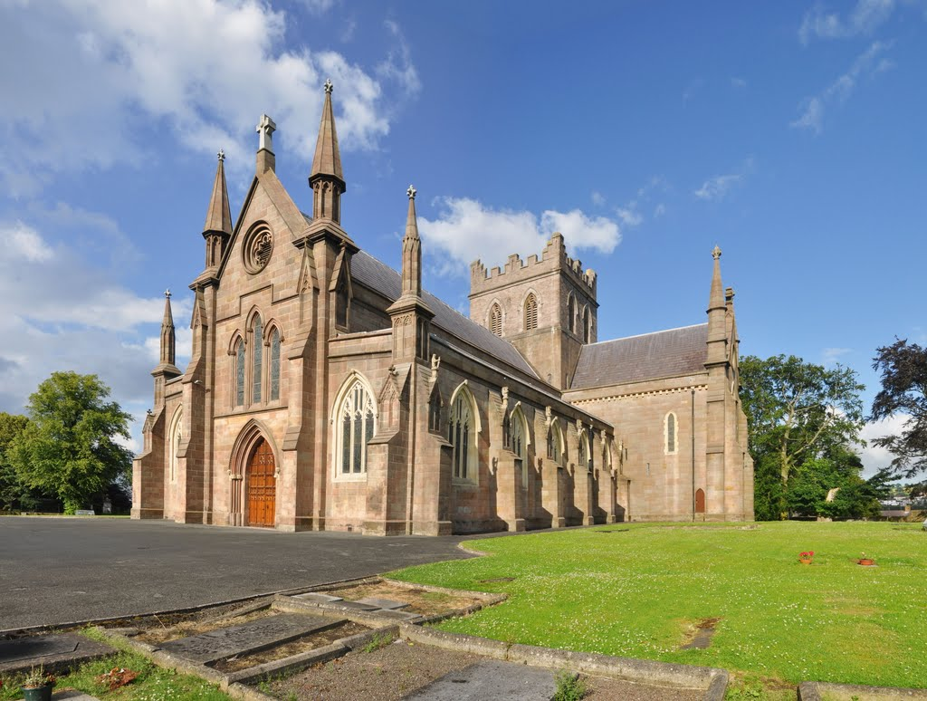 St Patrick's Church of Ireland Cathedral. Armagh, Northern Ireland, UK.