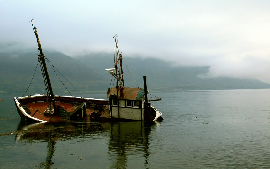 Play misty for me.  Sinking in Loch Linnhe
