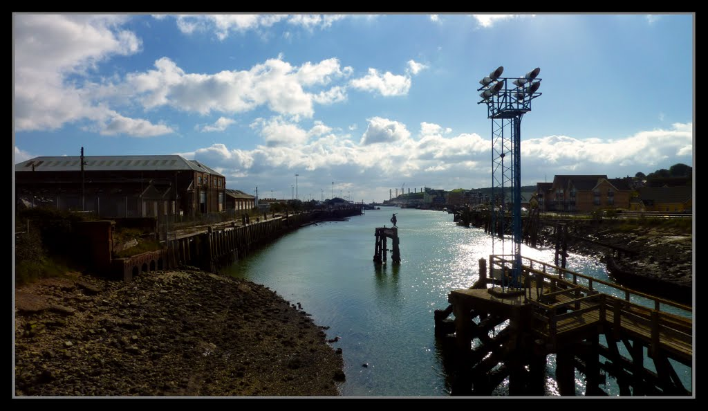 View from Newhaven Swing Bridge