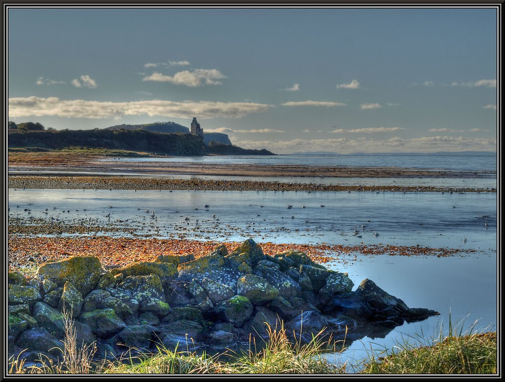 Greenan Castle from Ayr.
