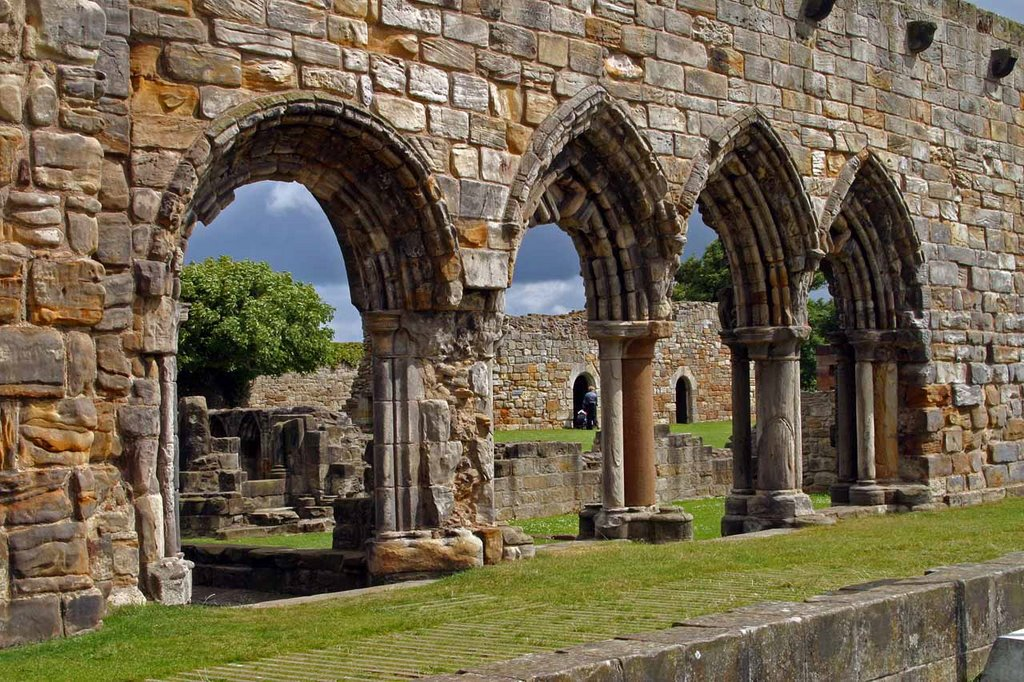 The Cloister - St-Andrews Cathedral