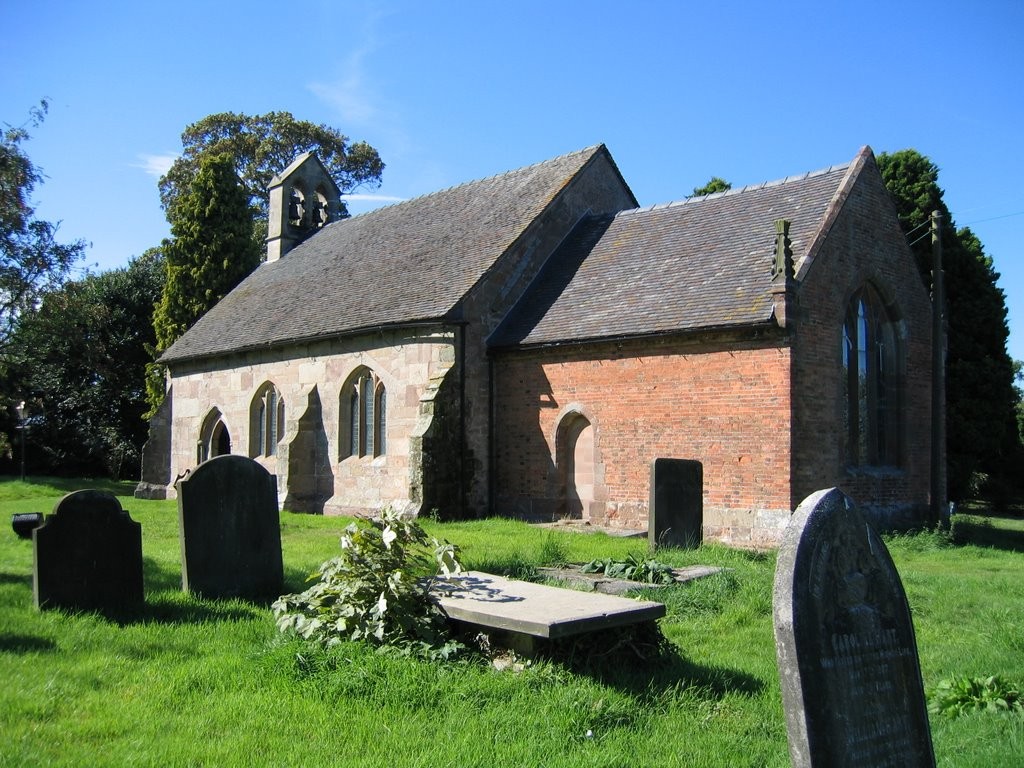 All Saints Church, Ranton