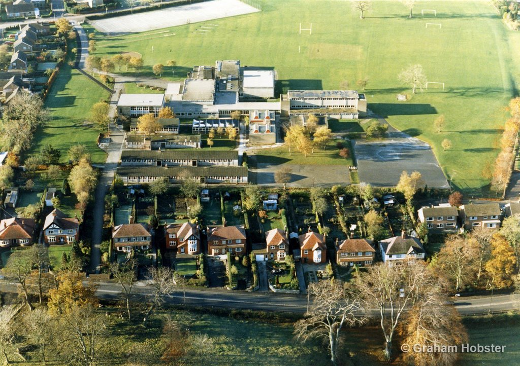 QEGS Lower School - 1986 - from my balloon
