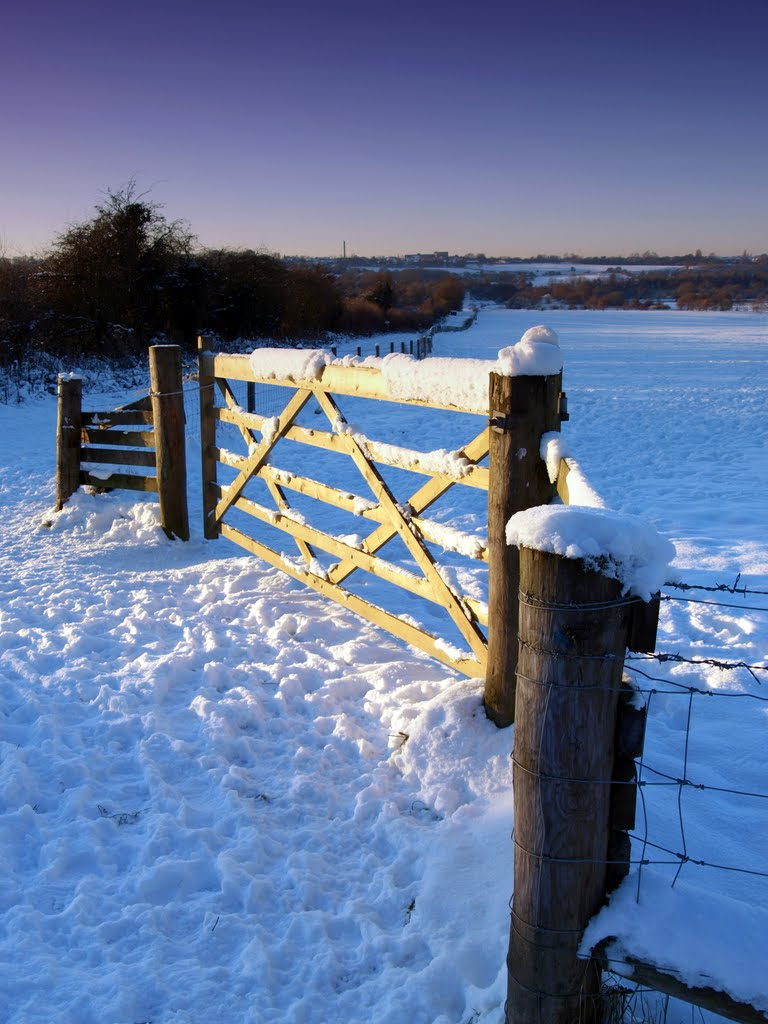 Sandwell Valley - Snow/Gate