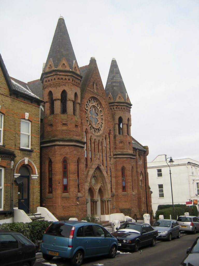First Concrete Built Church In The UK 1883 & Now Converted Into Flats