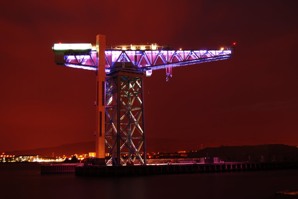 harbor crane in Clydebank