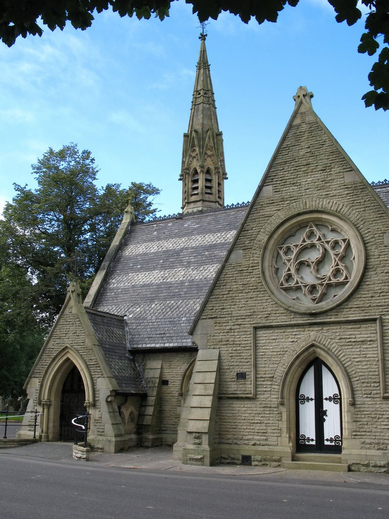 Bury Cemetery Church