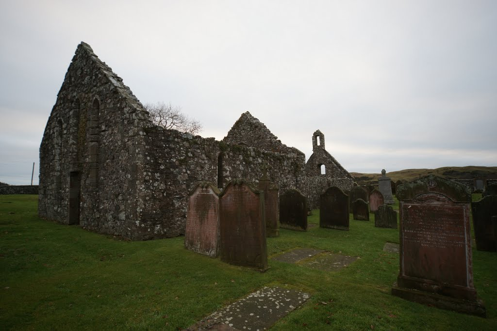 Ruins Of Old Buittle Church