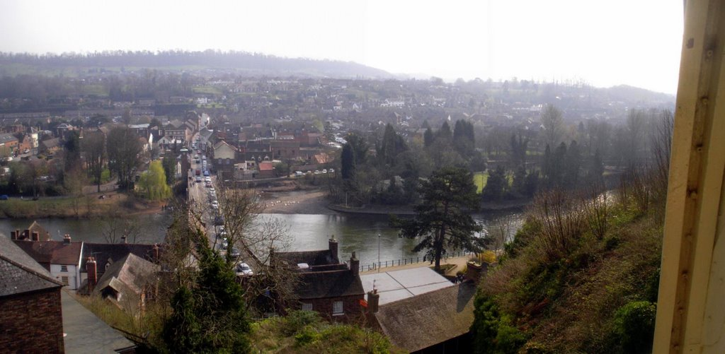 River Severn from the Cliff Railway