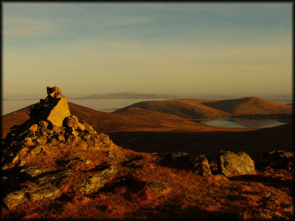 Early morning on Slieve Moughanmore