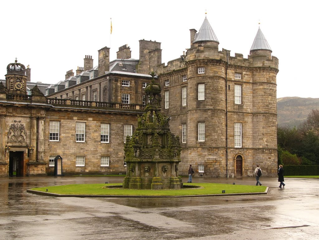 Edinburg, Holyrood Palace