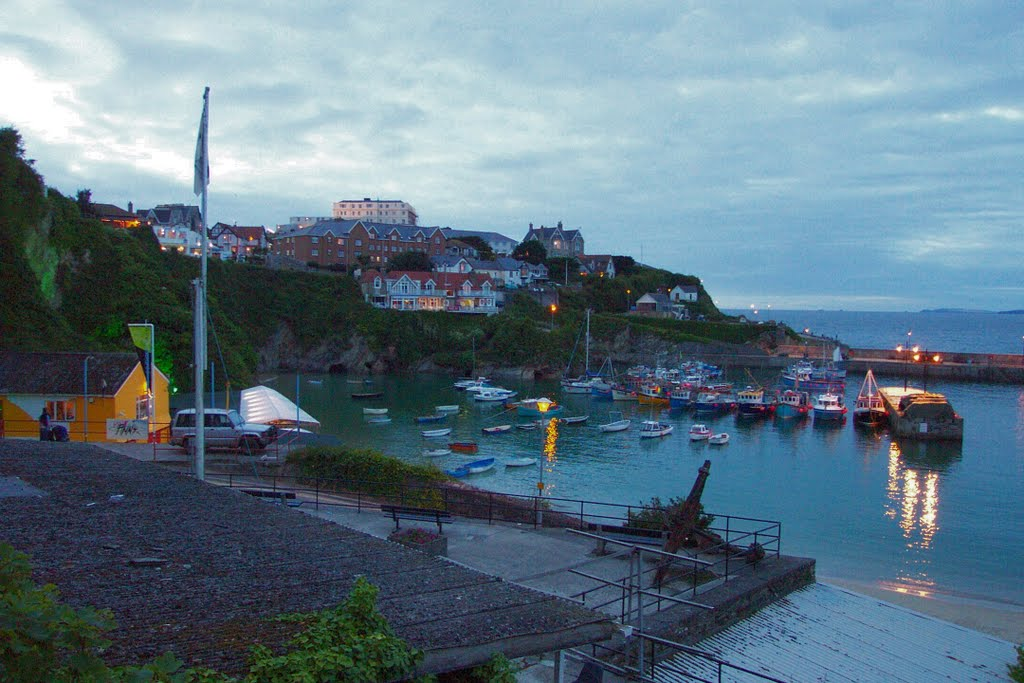 Newquay harbour early evening 2011