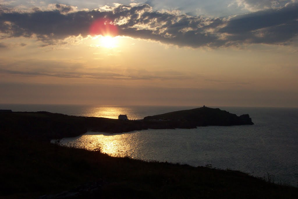 Newquay sunset 2011