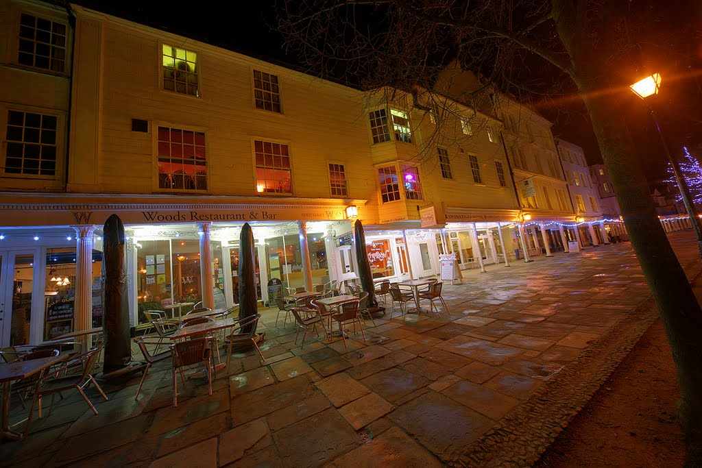 Woods Bistro - Pantiles Tunbridge Wells - HDR