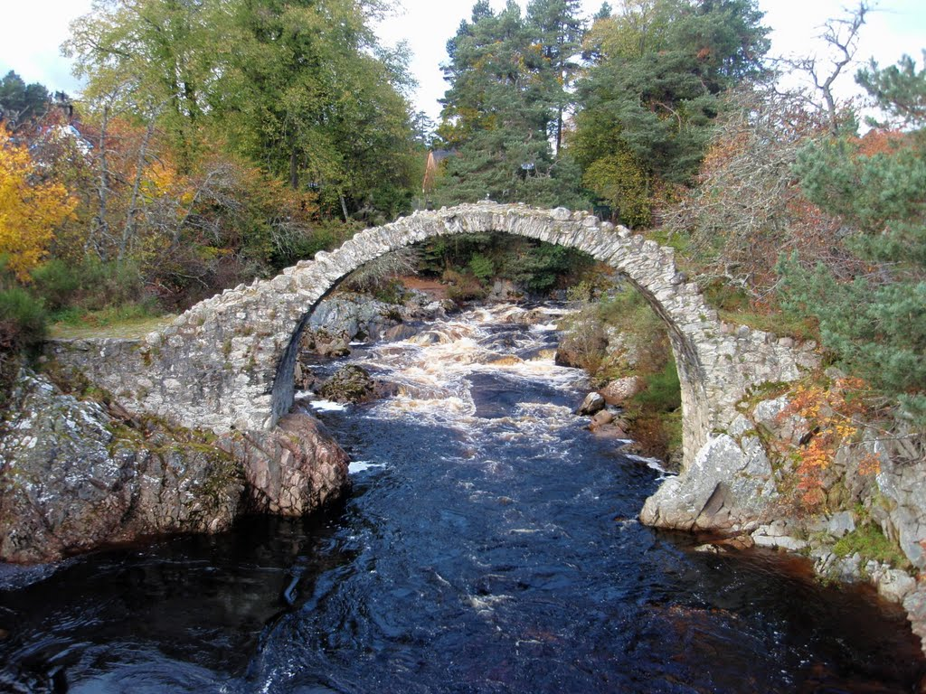 Packhorse Bridge Carbridge, Scotland