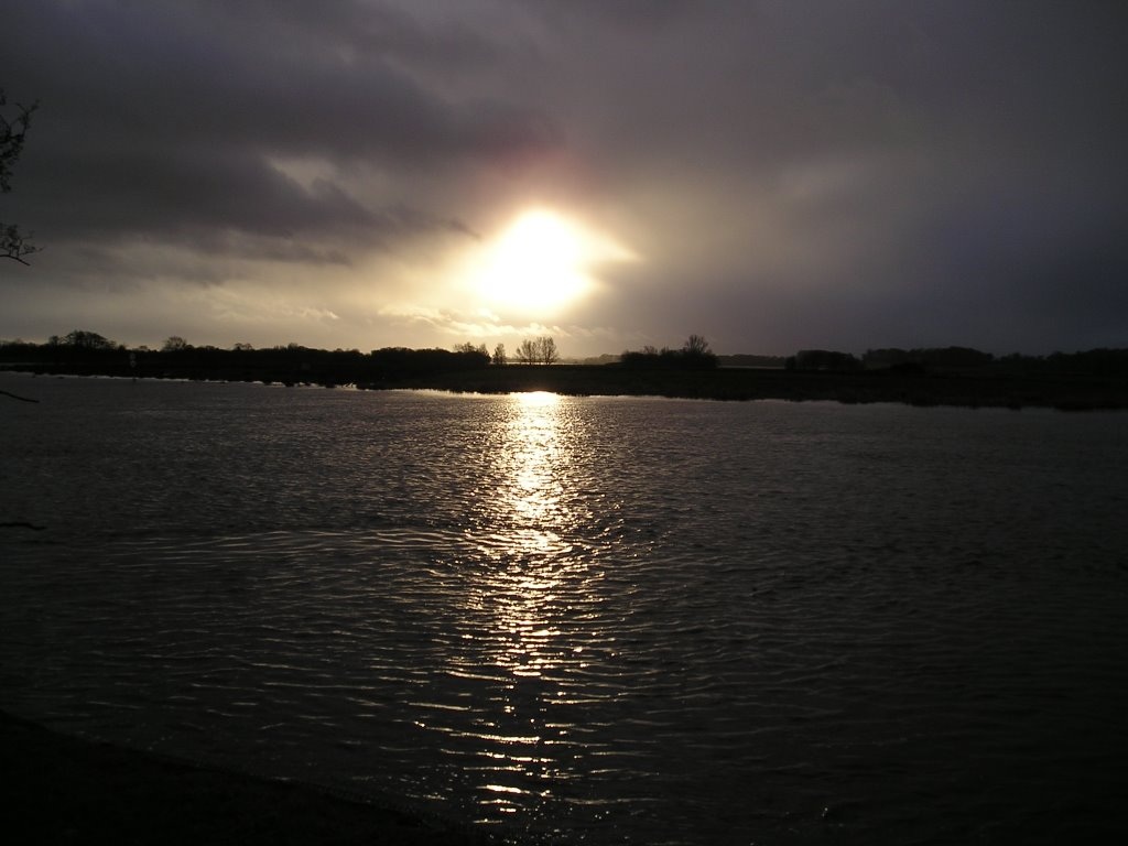 Lough Beg sunset