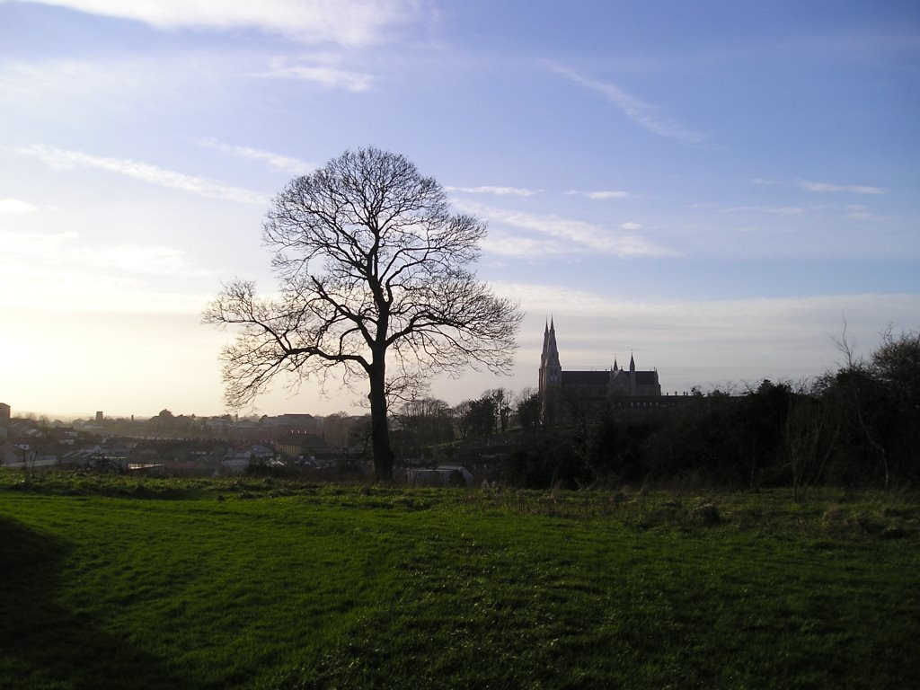 Armagh from the Observatory