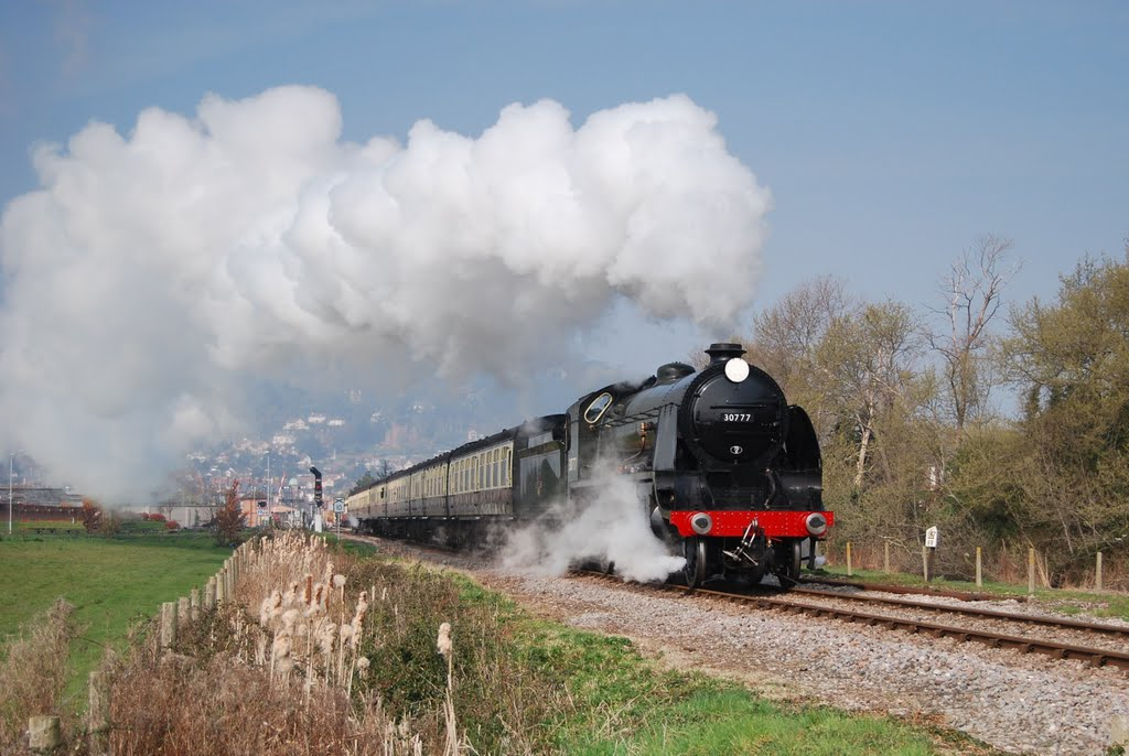 Sir Lamiel leaves Minehead on a Thursday morning in March