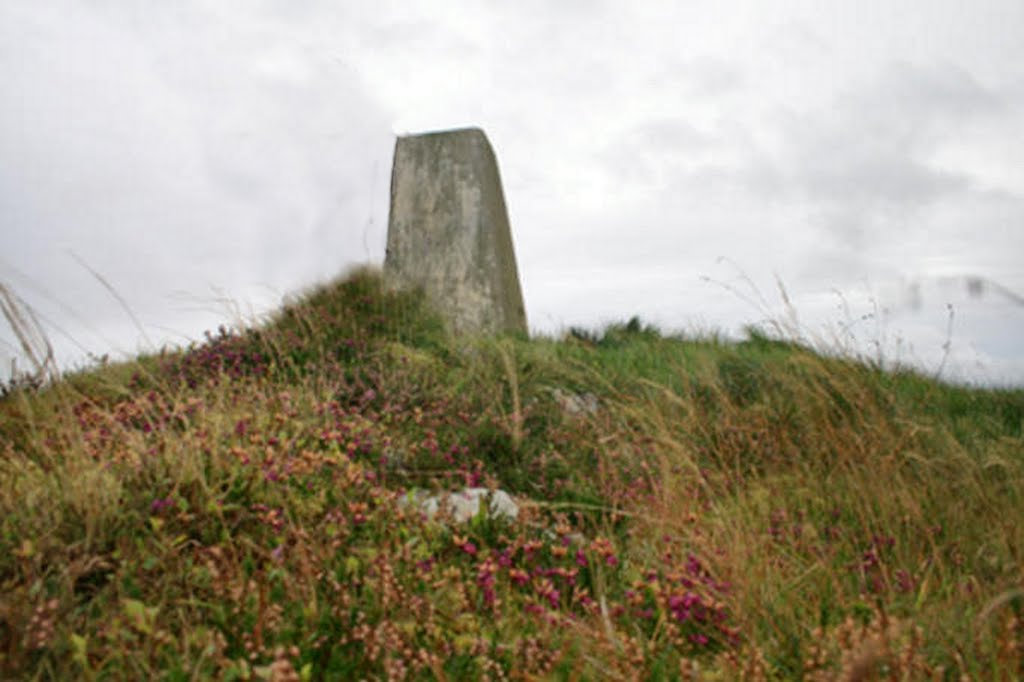 Coil A Ghuail Triangulation Pillar (Isle of Islay) Photo courtesy of B Williamson