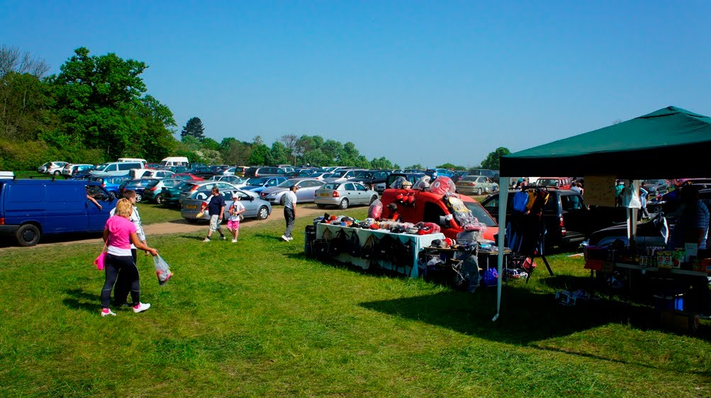 Aldenham car boot sale 23/04/2011
