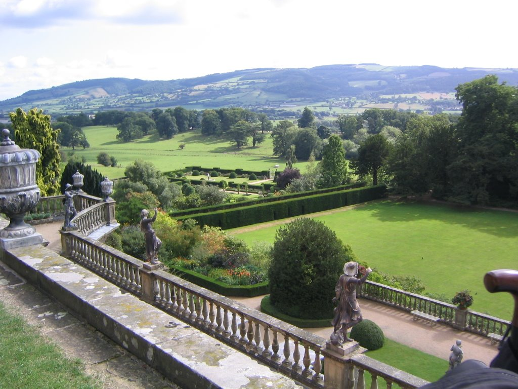 View from Terrace Powis Castle