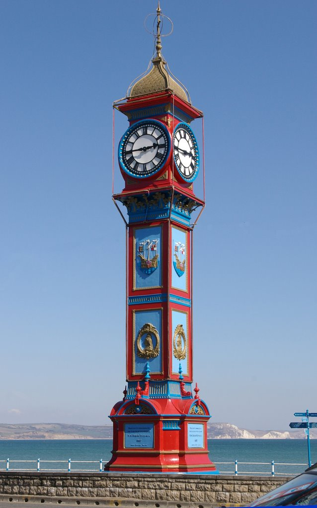 The Jubilee Clock - Weymouth Dorset