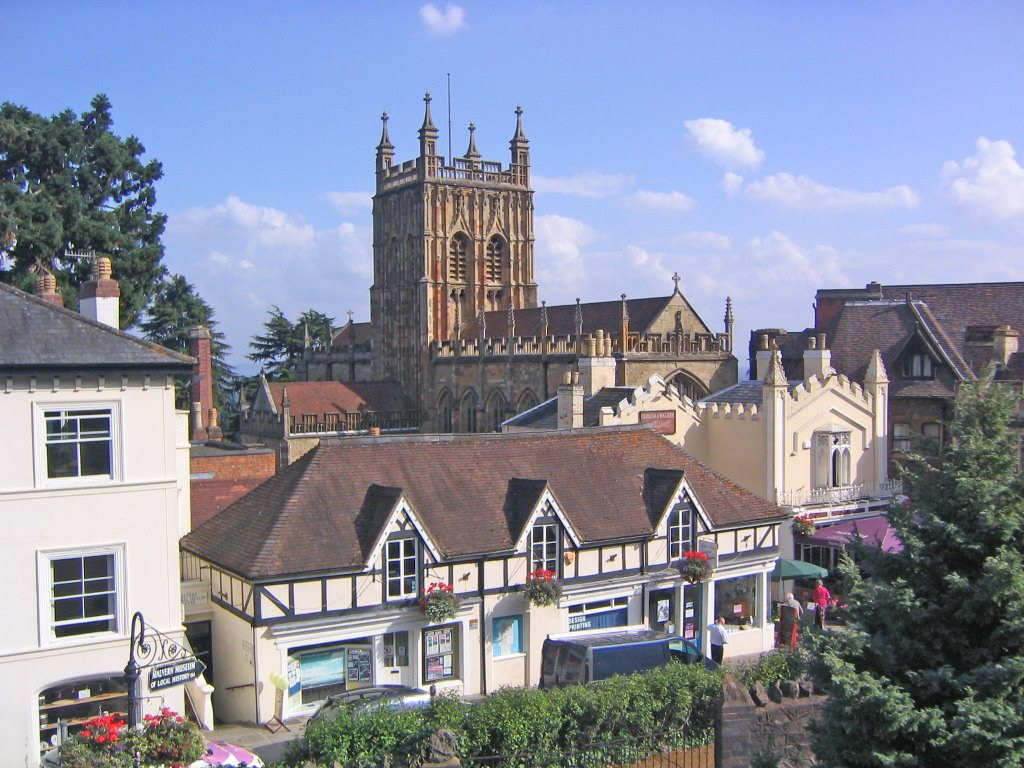 View of Great Malvern Priory