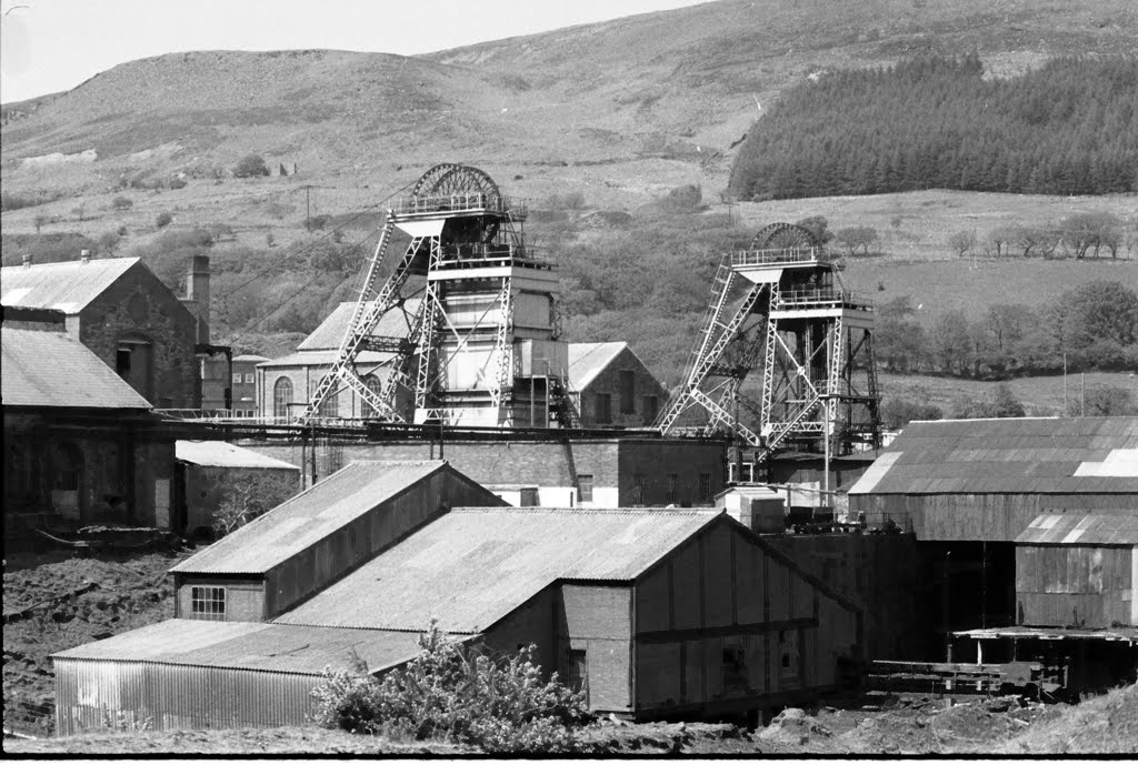 St Johns Colliery, Cwmdu, Maesteg, South Wales