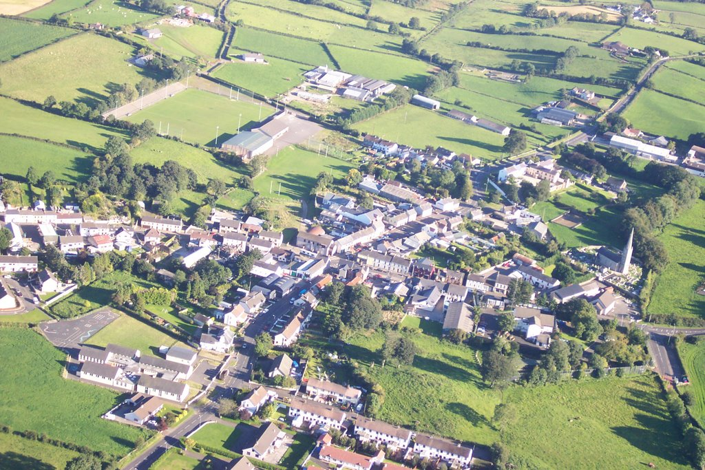 Bellaghy from the air
