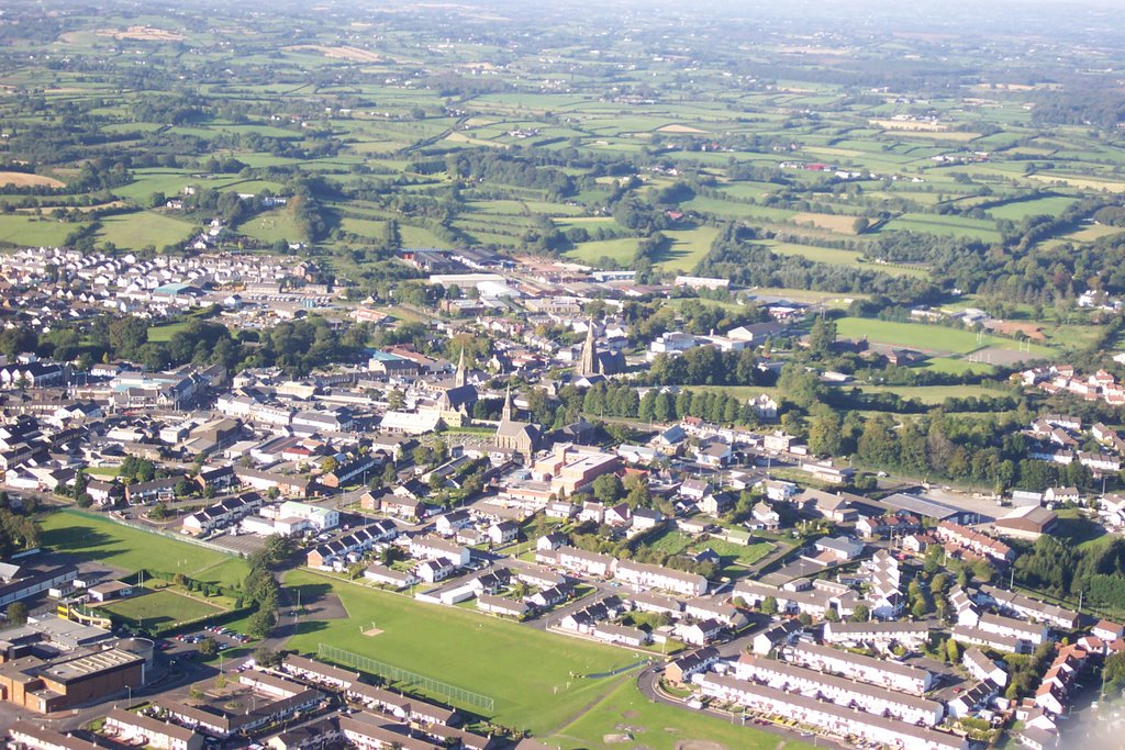 Magherafelt and the three Spires