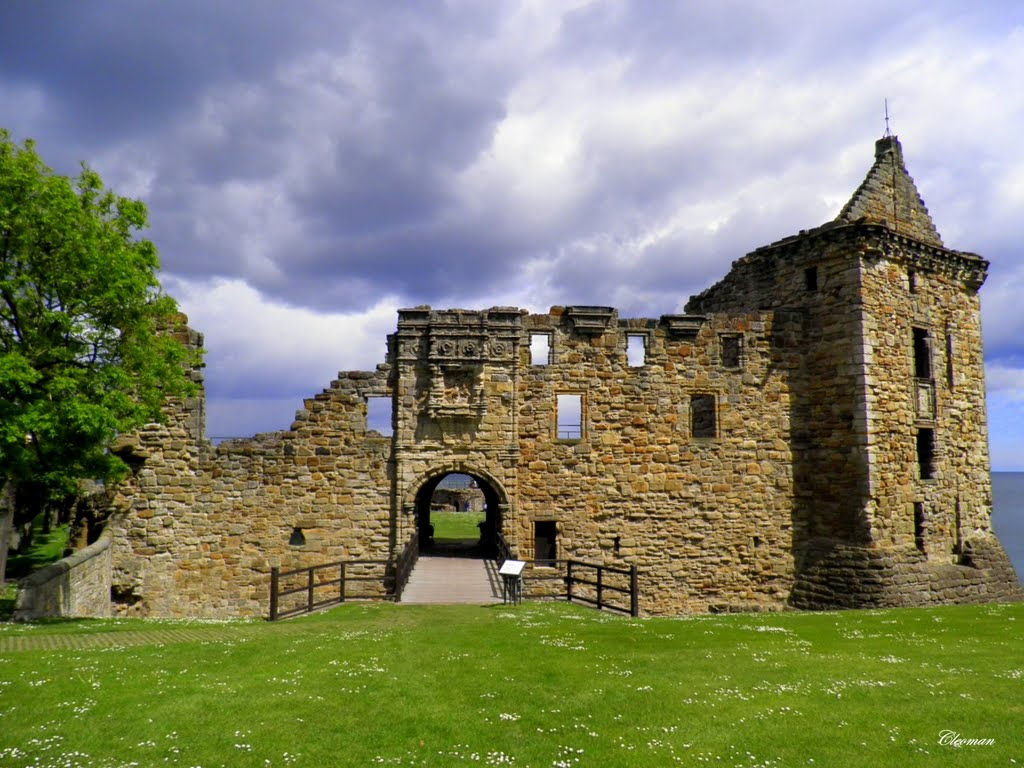 Saint Andrews Castle, Scotland.