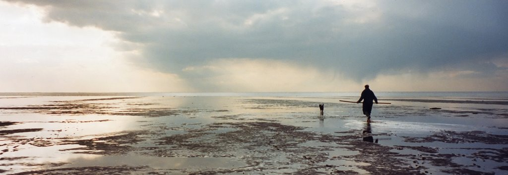 The solitude of the Wash, Heacham