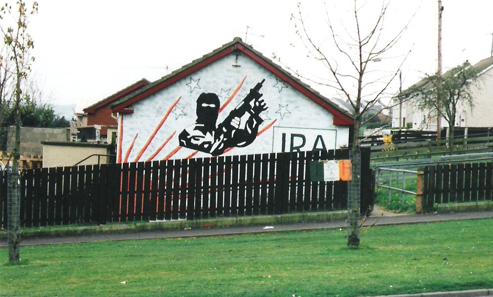 IRA support in Northern Ireland