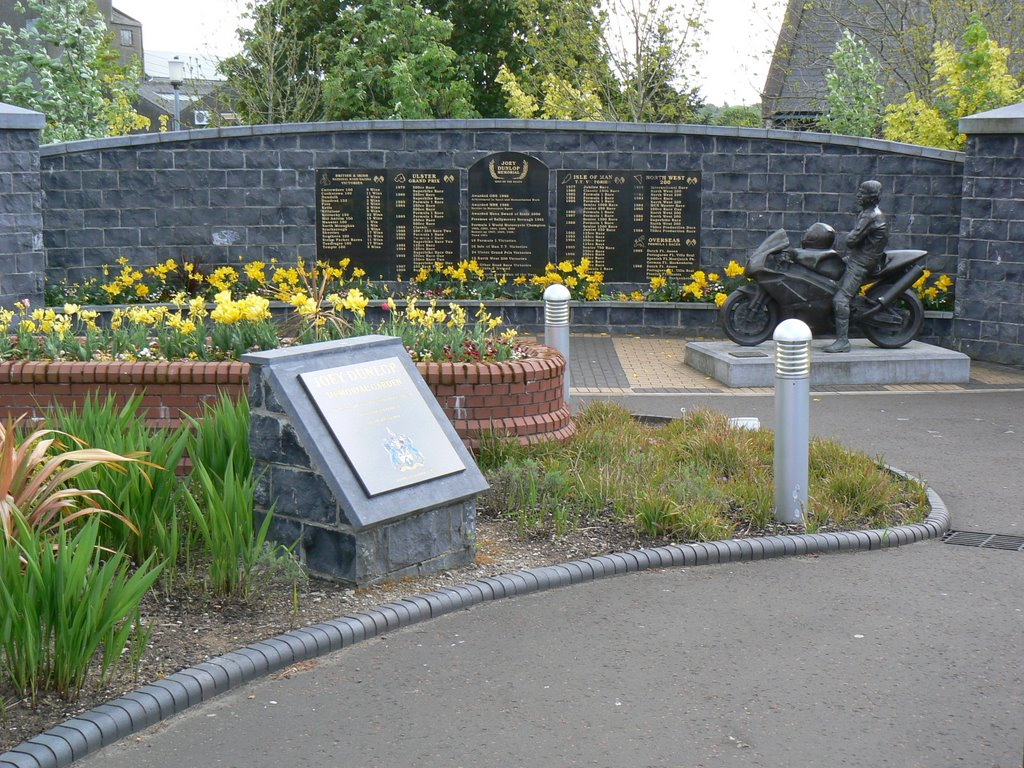 Joey Dunlop Memorial Garden, Ballymoney, Northern Ireland