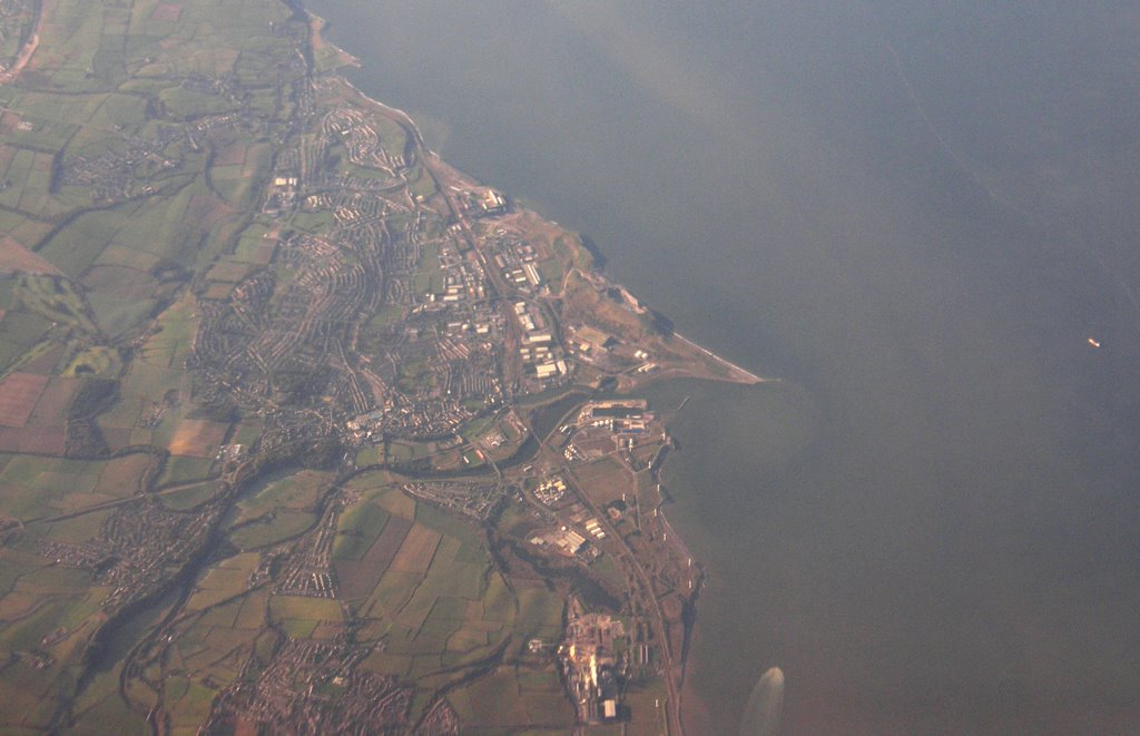 Workington from the Air