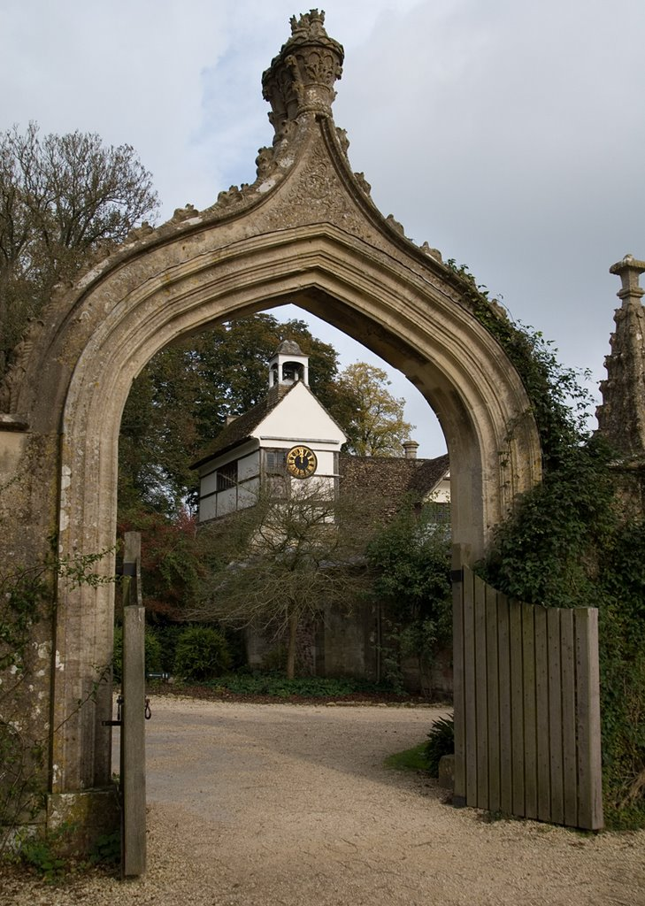 Archway, Lacock Abbey