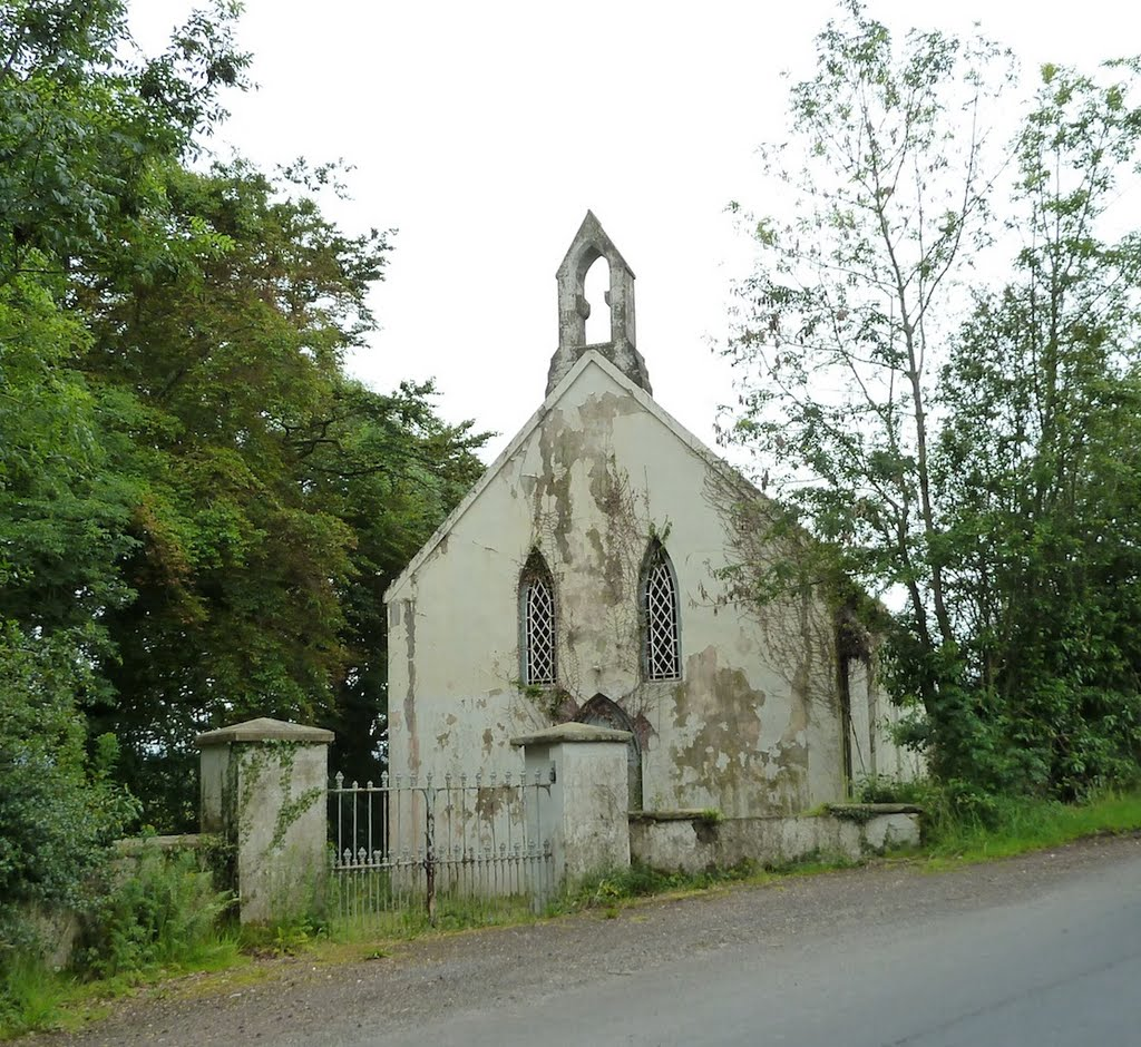 Roman Catholic church chapel in the townland of Gortnahey - Dungiven - Northern Ireland